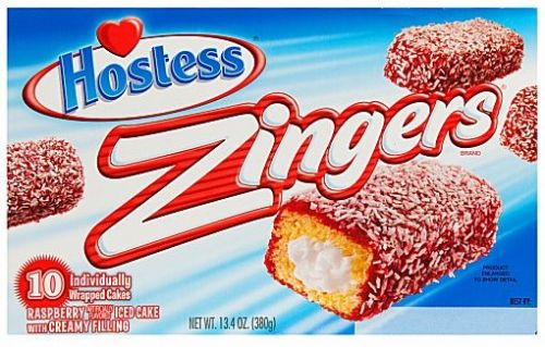 Hostess Raspberry Zingers (Box of 10) (US)